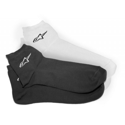 CALCETÍN ALPINESTARS CASUAL STAR BLANCO-A