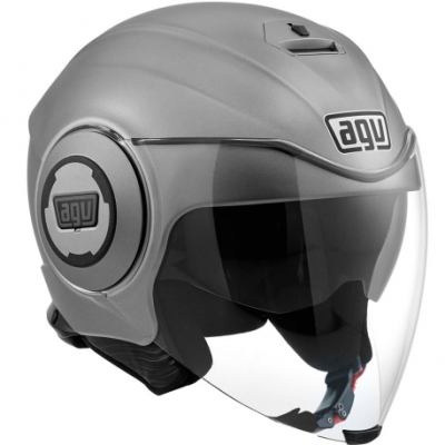 CASCO AGV FLUID GRIS MATE