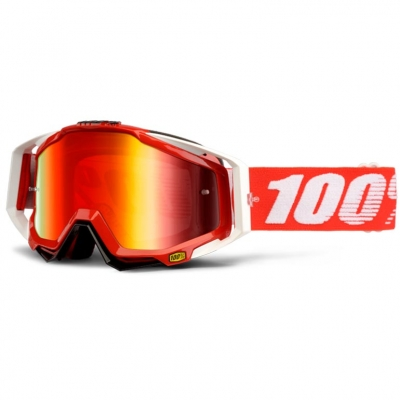 GAFAS 100% RACECRAFT FIRE ROJO