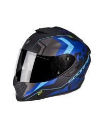 CASCO SCORPION EXO-1400 AIR TRIKA AZUL