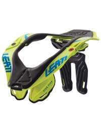 COLLARIN LEATT BRACE GPX 5.5 AMARILLO FLUOR NEW