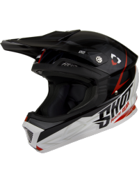 CASCO CROSS INFANTIL SHOT FURIOUS EDGE NEGRO