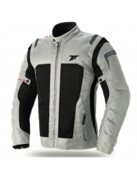 CHAQUETA SEVENTY DEGREES SD-JT44 TOURING MUJER ICE/NEGRO