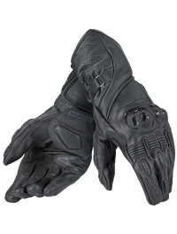 GUANTES PIEL DAINESE VELOCE NEGRO