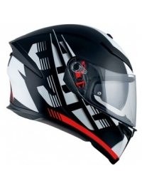 CASCO AGV K5 S DARKSTORM MULTI ROJO MATE