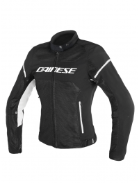 CHAQUETA DAINESE AIR FRAME MUJER NEGRO/BLANCO