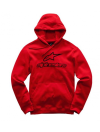 SUDADERA ALPINESTARS ALWAYS ROJO