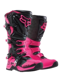 BOTAS FOX COMP 5 WOMEN'S NEGRO ROSA
