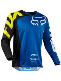 CAMISETA FOX 180 RACE AZUL