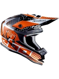 CASCO CROSS HEBO JUNIOR QUAKE NARANJA