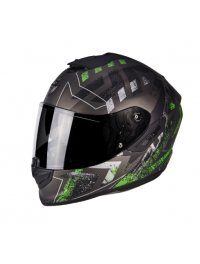 CASCO SCORPION EXO-1400 AIR PICTA VERDE