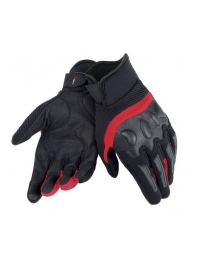 GUANTE DAINESE AIR FRAME NEGRO/ROJO