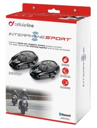 INTERCOMUNICADOR CELLULAR LINE SPORT PACK2 MOTO A MOTO