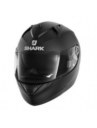 CASCO SHARK RIDILL BLANK NEGRO MATE