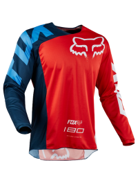 CAMISETA FOX 180 RACE ROJA
