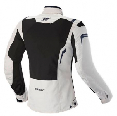 CHAQUETA SEVENTY DEGREES SD-JT46 TOURING MUJER ICE/NEGRO